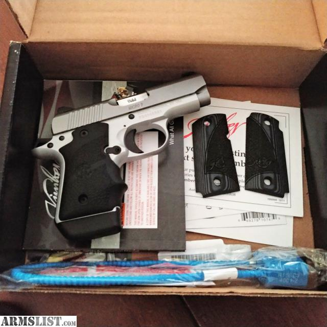 Kimber 3300193 Micro 9 Stainless Dn Pistol: For Sale/Trade: Kimber Stainless Steel Micro 9 (DN
