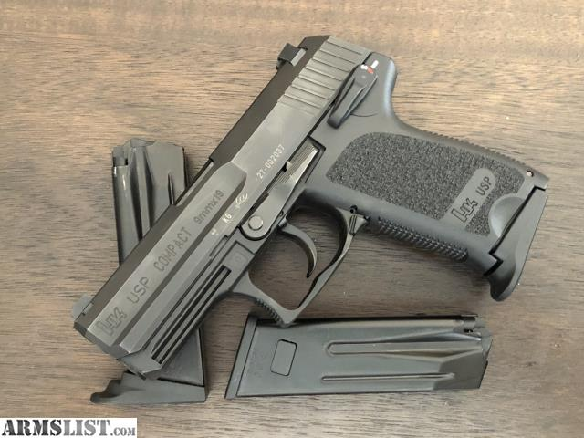 ARMSLIST - For Sale: HK USP Compact with extras