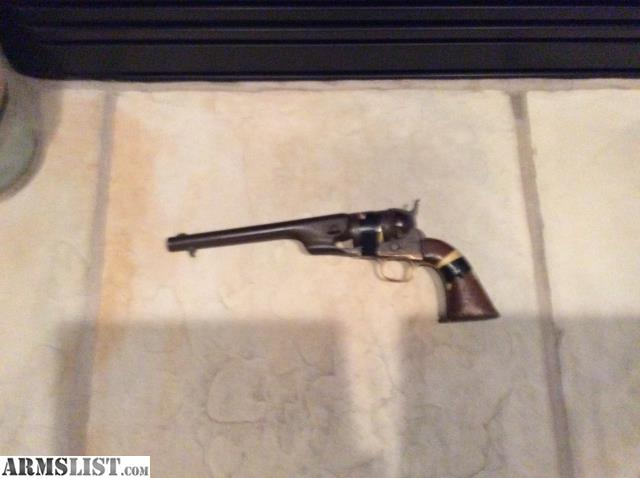 ARMSLIST - For Sale: 1860 colt army