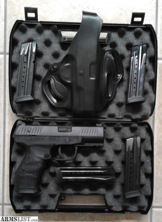 ARMSLIST - For Sale: Walther Creed w/upgrades