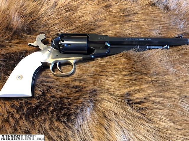ARMSLIST - For Sale: Pietta 1858 Remington Black Powder Revolver, 44