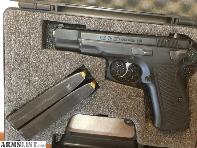 ARMSLIST - For Trade: CZ 75 BD