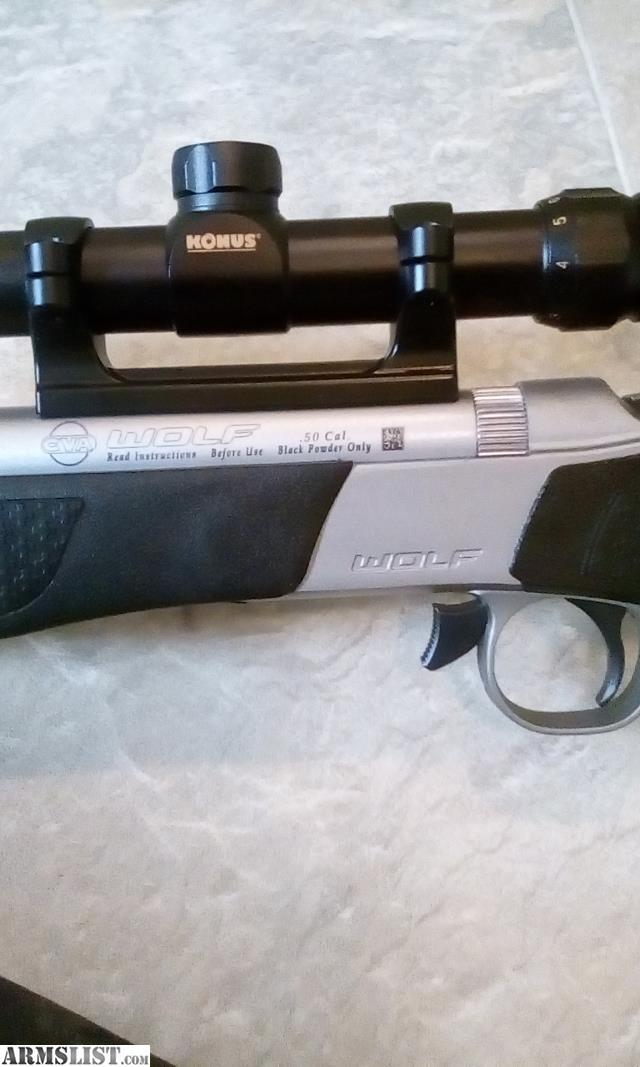 ARMSLIST - For Sale: CVA Wolf -  50 Cal muzzleloader