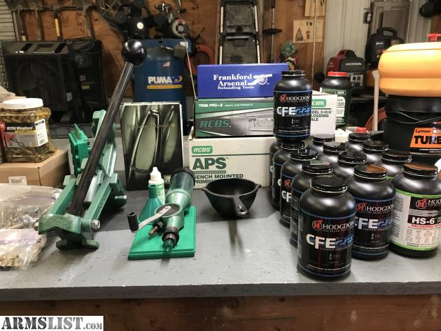 ARMSLIST - For Sale: RCBS Reloading Equipment