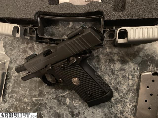 ARMSLIST - For Sale: Sig Sauer P938 Highly Modified  9mm