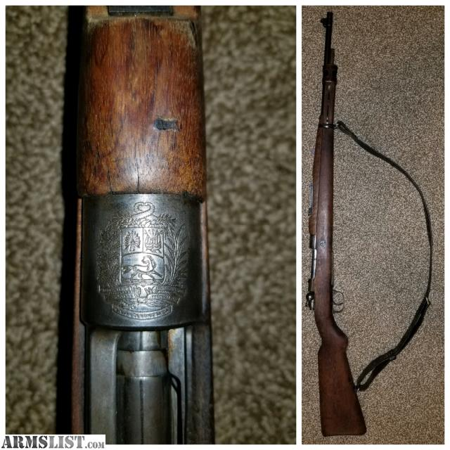 For Sale/Trade: Pre War Venezuelan 7mm Mauser