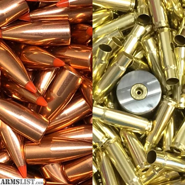 ARMSLIST - For Sale: 300 AAC Blk Brass and 110gr VMax Hornady