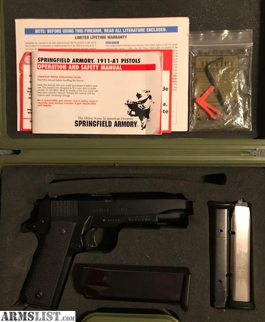 ARMSLIST - For Sale/Trade: Springfield Armory High-Capacity