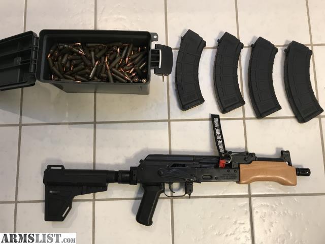 ARMSLIST - For Sale: Century Arms Mini Draco AK | AK-47