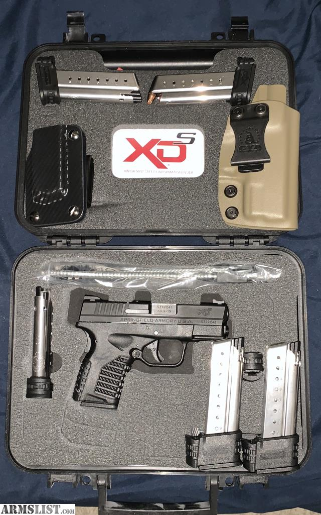 ARMSLIST - For Sale/Trade: Springfield XDS 9mm w/ 6 mags