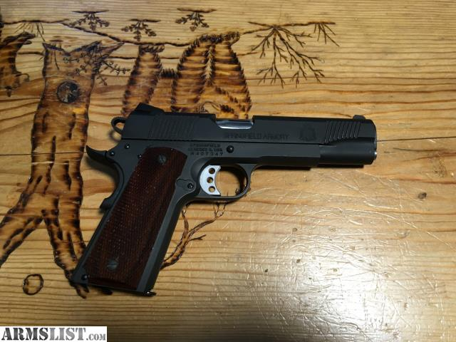 ARMSLIST - For Sale/Trade: Springfield 1911 A1 Loaded