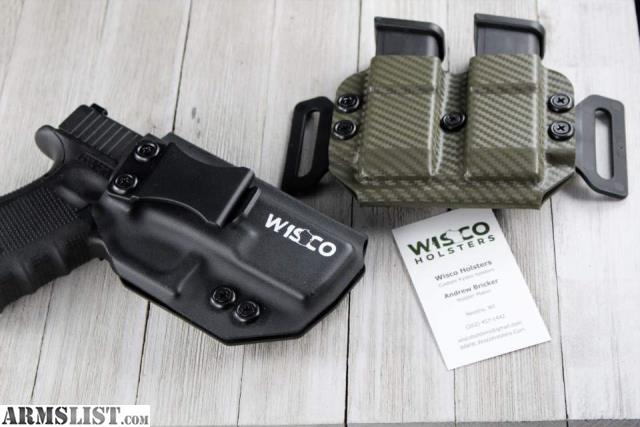ARMSLIST - For Sale: Wisco Holsters custom Kydex holsters