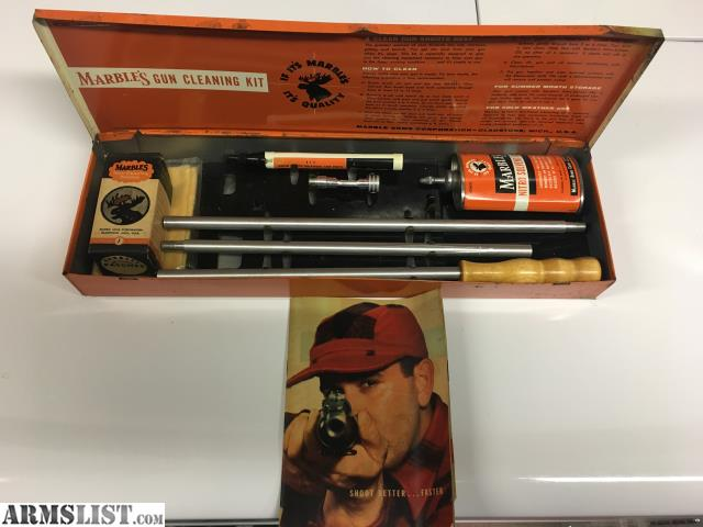 Armslist For Sale Marbles Gun Cleaning Kit