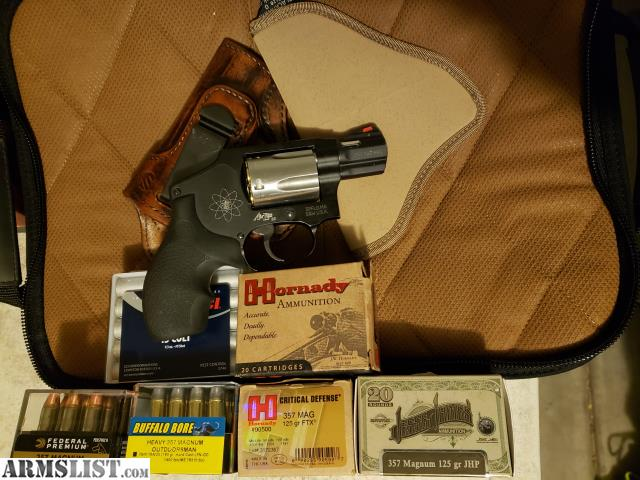 ARMSLIST - For Sale: S&W model 340 ss airweight  357 magnum