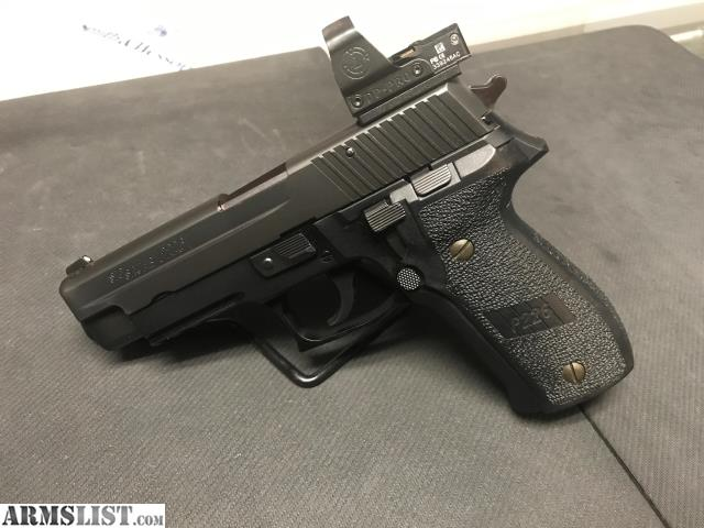 ARMSLIST - For Sale: Sig Sauer p226 with Delta Point Pro