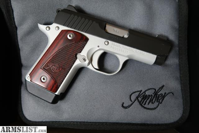 ARMSLIST - For Sale: Kimber Micro 9 - Two-Tone