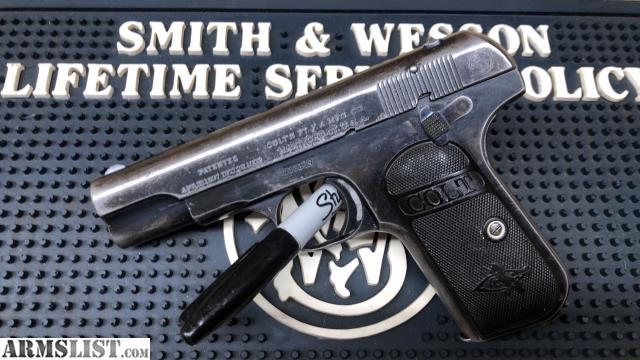 ARMSLIST - For Sale/Trade: Colt 1903 pocket hammerless