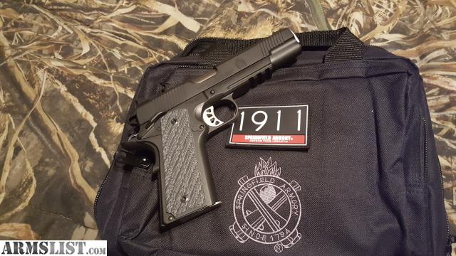 ARMSLIST - For Sale: Springfield Range Officer elite