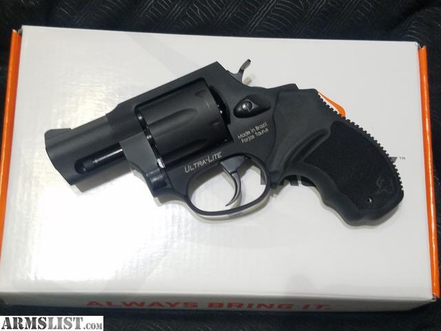 taurus 856 ultra lite .38 special revolver
