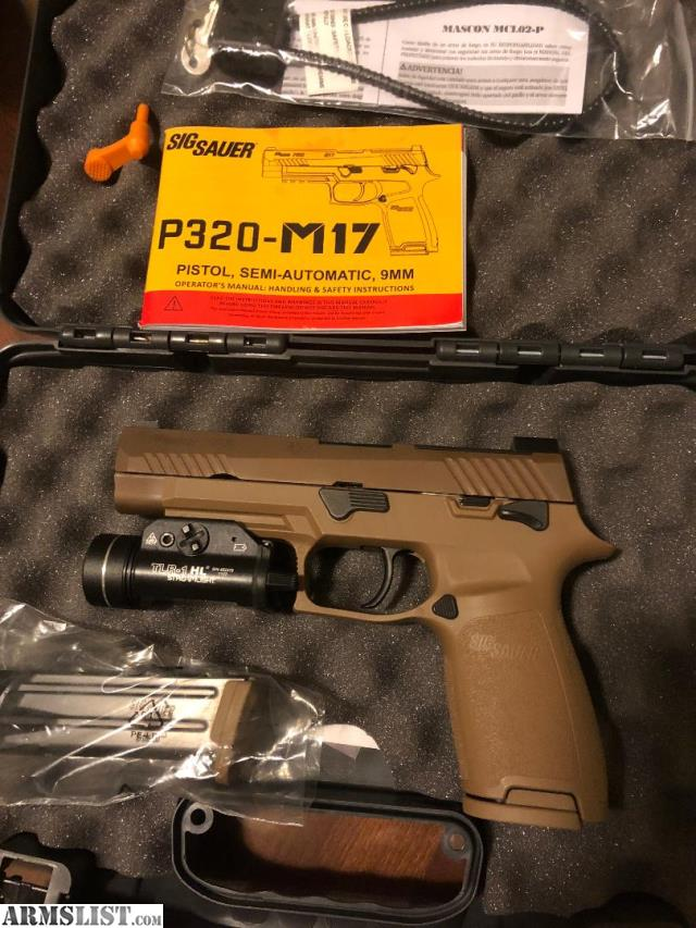 ARMSLIST - For Sale/Trade: Sig P320-M17