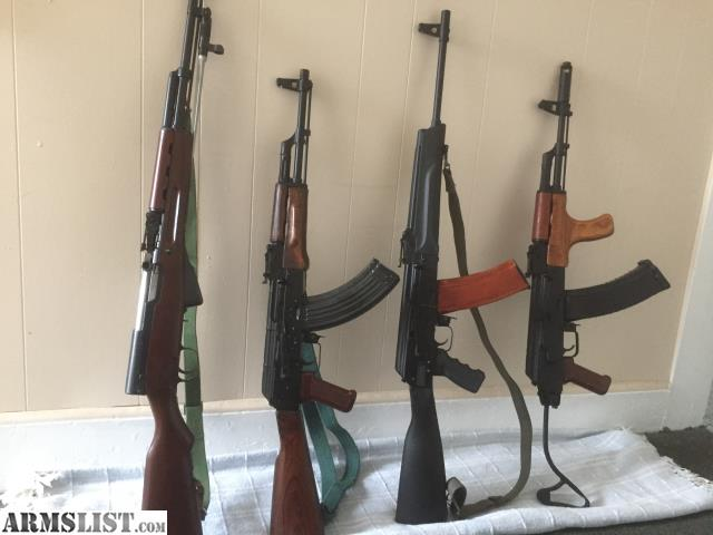 ARMSLIST - For Sale: Multiple rifles AK 47 74 556 SKS