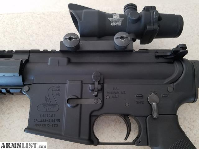 ARMSLIST - For Sale: AR 15 Bushmaster