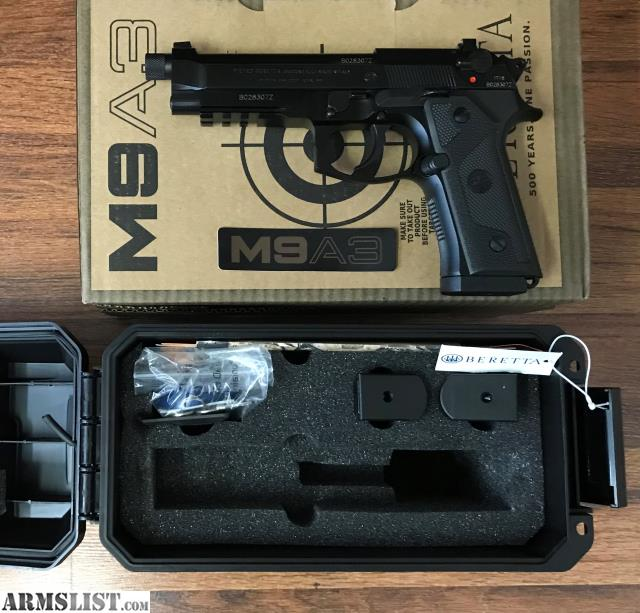 ARMSLIST - For Sale: Beretta M9A3 Type G, with Threaded Barrel, NIB