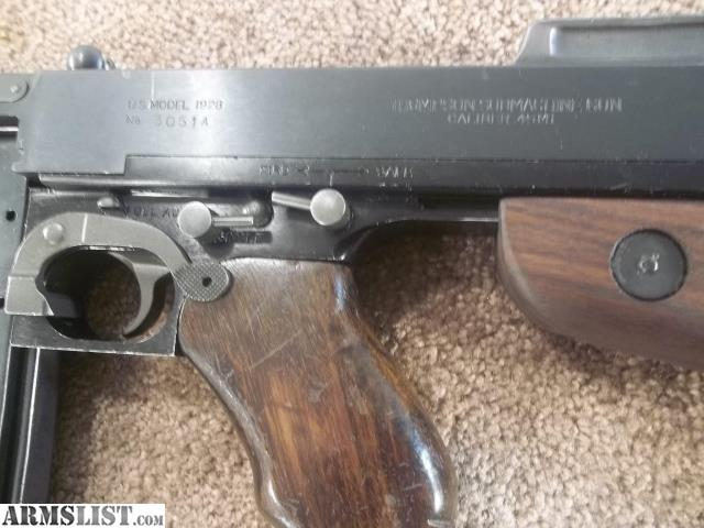 ARMSLIST - For Sale: Auto-Ordnance West Hurley Thompson