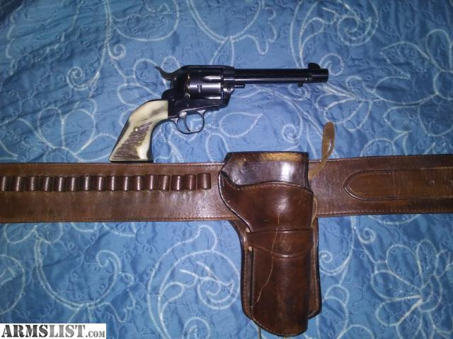 ARMSLIST - For Sale: 45 Long Colt Ruger Vaquero with custom holster