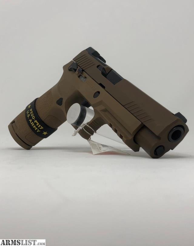 ARMSLIST - For Sale: New Sig Sauer M17 Coyote 9mm