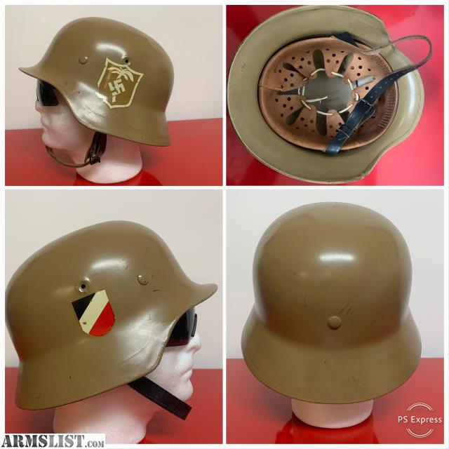 ARMSLIST - For Sale/Trade: German Afrika Korps Helmet