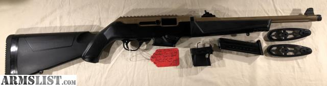 ARMSLIST - For Sale: Ruger PC Carbine Takedown 9mm, Bronze