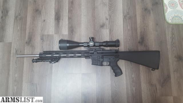 ARMSLIST - For Trade: Armalite M15T Ar 15 trade for carry