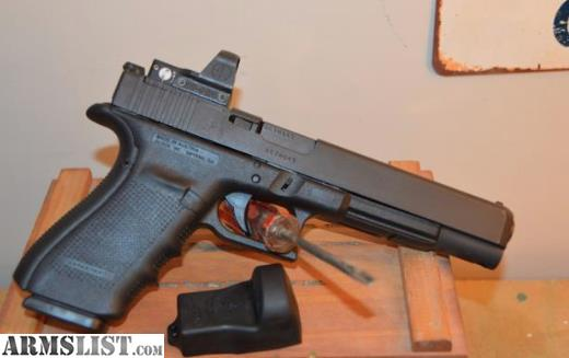 ARMSLIST - For Sale: Glock 40 MOS (10mm) 6 5 inch barrel