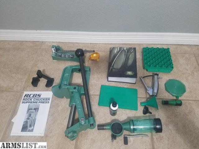 ARMSLIST - For Sale: RCBS Reloading Kit