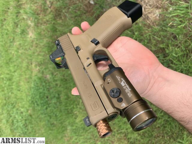 ARMSLIST - For Trade: Glock 19X trijicon RMR with TLR-1-HL