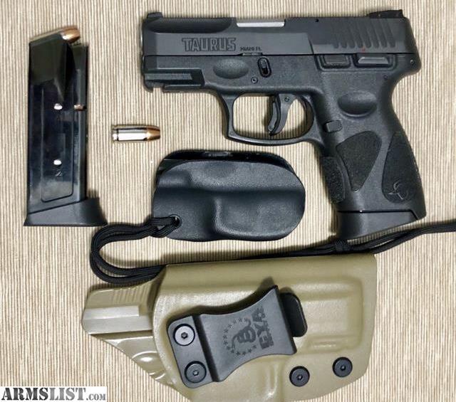 ARMSLIST - For Sale: Taurus G2C - 9mm, 2 magazines, 2 CCW