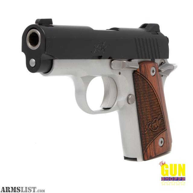 ARMSLIST - For Sale: Used Kimber Micro 9 Two Tone 9mm Pistol