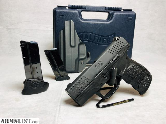 ARMSLIST - For Sale: Walther PPS M2 9mm w/3 Mags & Holster
