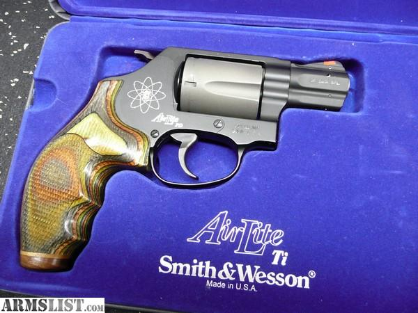 ARMSLIST - For Sale: Smith & Wesson 337 PD Scandium Frame  38
