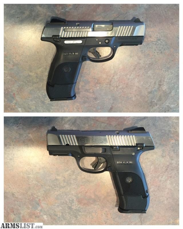 ARMSLIST - For Sale: Ruger SR9c Stainless, 10+1 & 17+1, 3 Mags