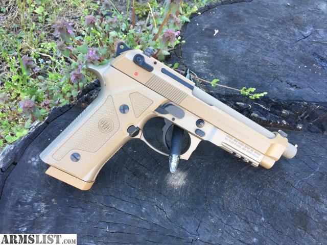 ARMSLIST - For Sale: Beretta M9A3 w/ Lasermax Guide Rod