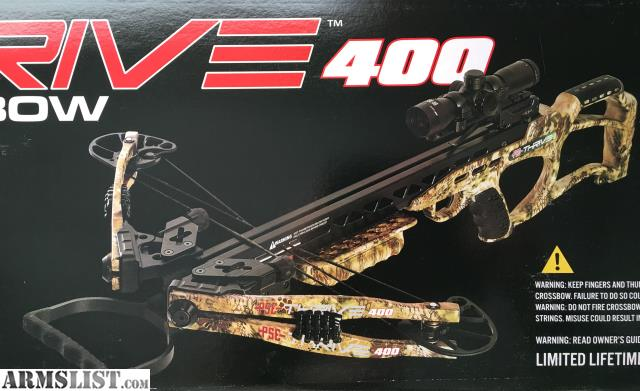 ARMSLIST - For Sale: PSE Thrive 400 Crossbow Package