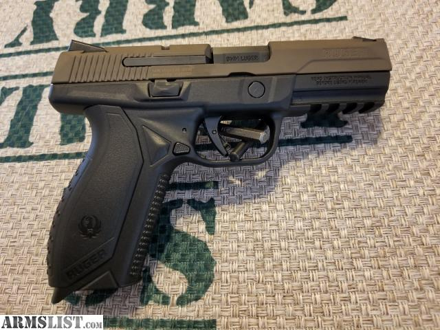 ARMSLIST - For Sale: Ruger American 9mm semi auto pistol