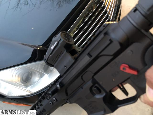 """ARMSLIST - For Sale/Trade: Gibbz arms side charging AR9mm 16"""" pcc"""