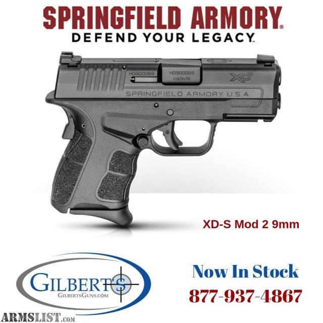 For Sale: Springfield XDS Mod 2 9mm Package