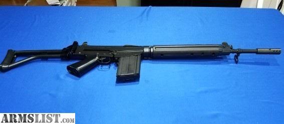 ARMSLIST - For Sale: PreBan Belgium FN FAL Para 50 63