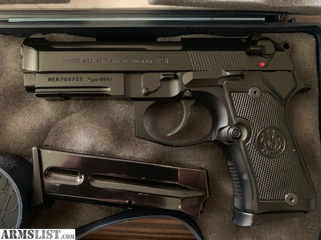 ARMSLIST - For Sale: Beretta 92FS M9A1 Compact INOX 9mm rail