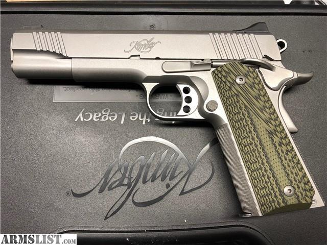 ARMSLIST - For Sale: Kimber Stainless TLE II 1911  45 ACP 5''