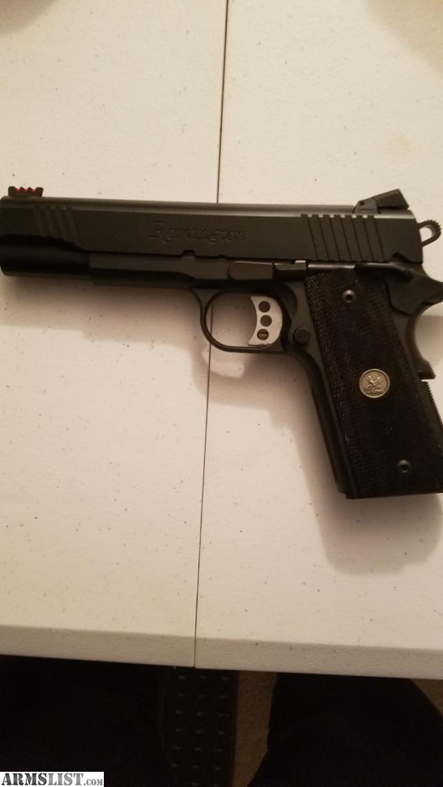 ARMSLIST - For Sale: 1911 Remington Enhandest 9m